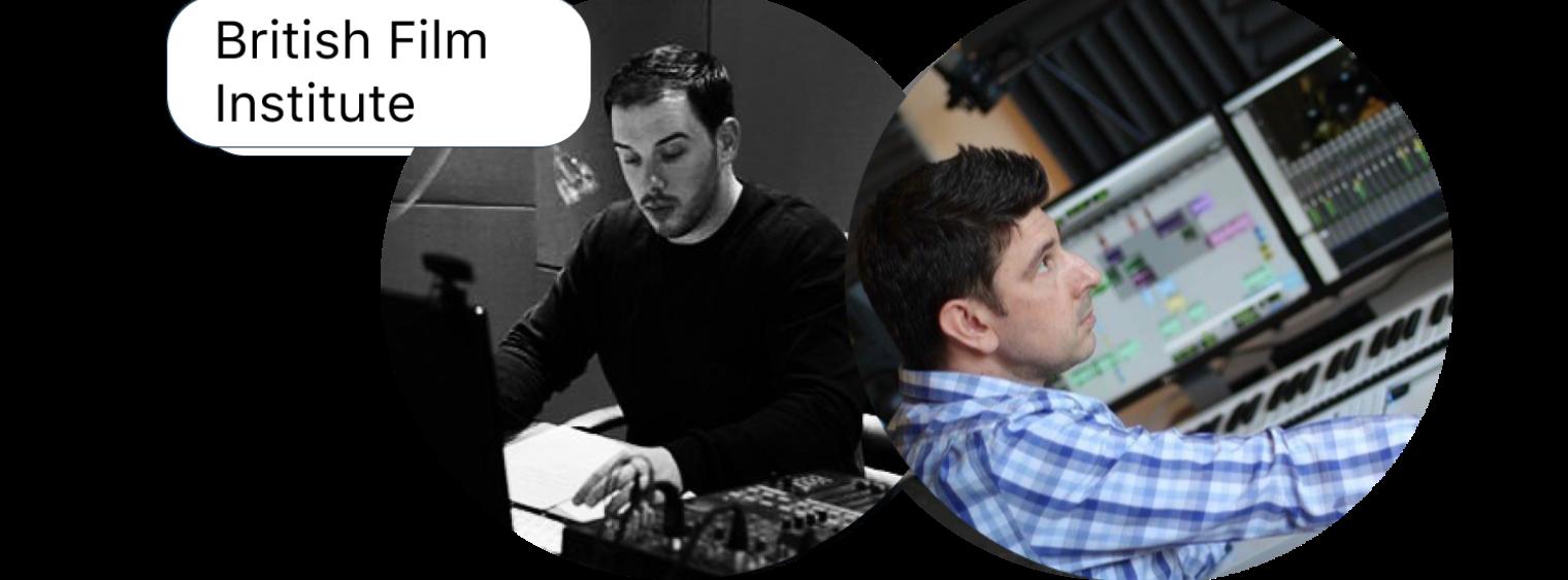 مسار إدارة الأصوات والتصميم العام للفيلم