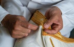 مسار التطريز اليدوي التقليدي